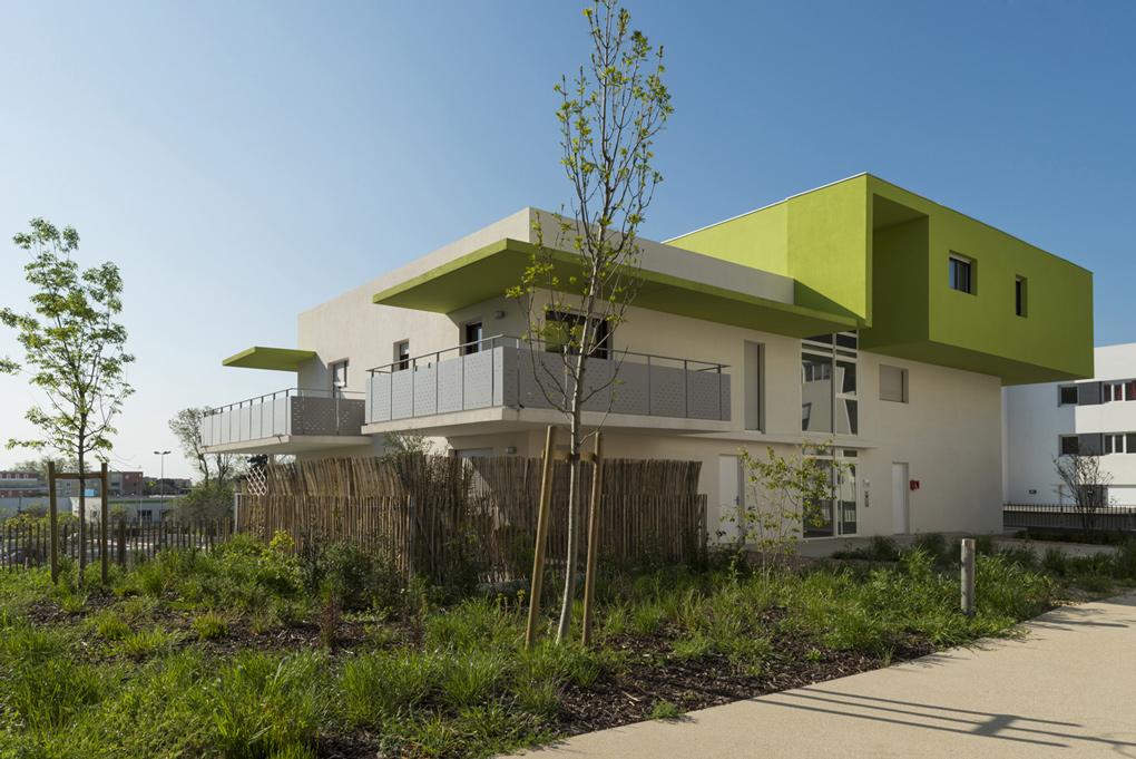 olympe montpellier lebunetel architectes urbanistes. Black Bedroom Furniture Sets. Home Design Ideas