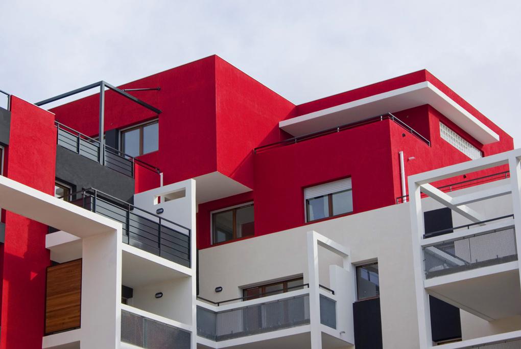 Le s quoia montpellier lebunetel architectes urbanistes for Assistant d architecte