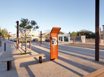 Frontignan Urban Boulevard Muscat Public garden