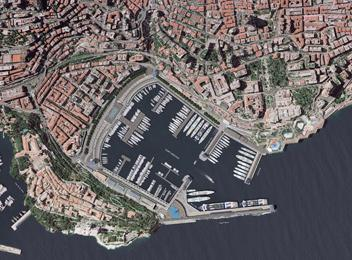 Port Hercule Monaco_plan masse