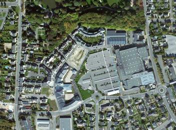 Quartier du parc Vitré_vue aérienne