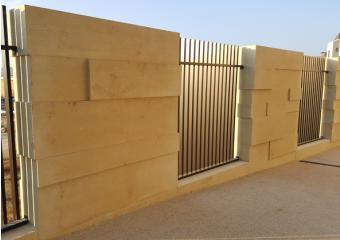 Mur de cloture