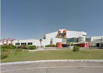 Vue du palais de sports Jacques chaban delmas à Castelnau