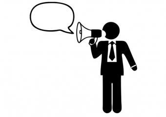 communication porte voix