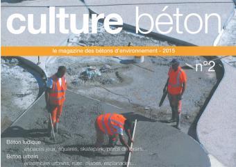 couverture revue culture béton n2