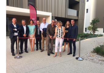 Inauguration des logements Diva à Saint-Jean-de-Védas