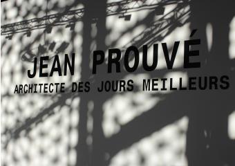 photographie de l'exposition Jean-prouvé un architecte des temps meilleurs